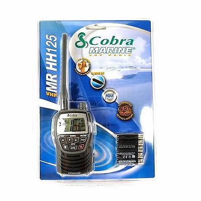 Cobra Marine Vhf Radio Mr Hh125 Eu Tutimare